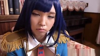 Satomi Nagase is stunning in her Asian cosplay clothes
