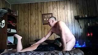 Lustful mature lovers bring their cuckold fantasy to life