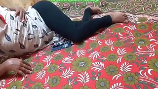 Indian College Girl Fucks With Brothers Friend