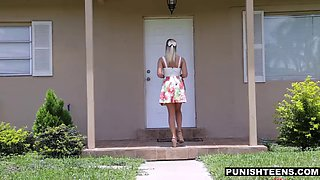 Innocent preacher's daughter gets her panties ripped
