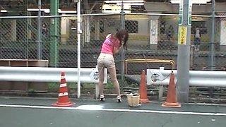 Hottest Japanese slut in Exotic Voyeur, Upskirts/Panchira JAV scene