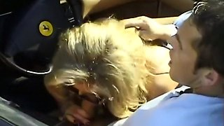 Gorgeous Blonde Babe Gets A Cum Facial