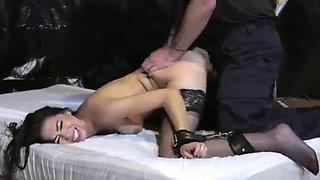 Secret Agent Captured Brutally Beaten and Fucked in Dungeon