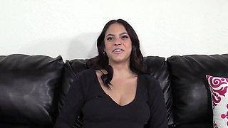 Casting Big Tits Latina First Anal