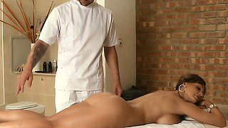 Brazzers - Dirty Masseur - Aletta Ocean and J