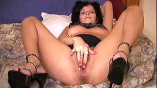 Black creampie for my hairy pregnant wife