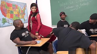 muslim teacher gangbang