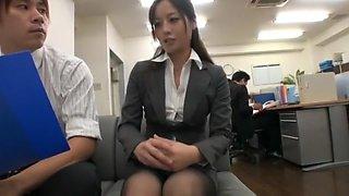 Horny Japanese chick Minami Asano in Amazing Panties, Stockings/Pansuto JAV video