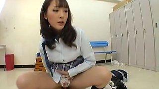 Fujii Mirai in 3 Fujii M Future School Girls Play Man
