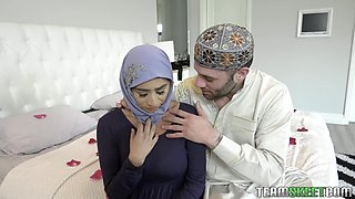 Perfect for oral petting hijab beauty Jezebeth in awesome porn compilation