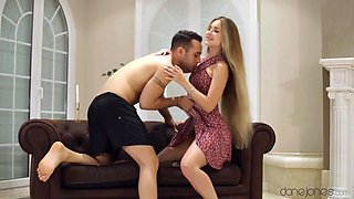 Mary Rock in Romantic young couple sex at sunset - SexyHub