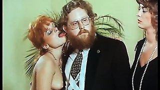 Lovely retro couple enjoys a good fuck session