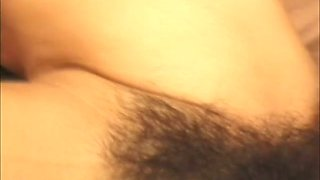 Bushy pussy of sleepy busty wifey is poked by too aroused hubby