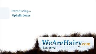 Ophelia Jones has naked fun in her bathroom - Compilation - WeAreHairy