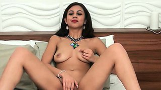 Turkish Babe Stripping And Masturbating On Webcam