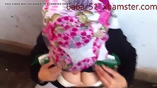 turbanli hijab kopftuch cumshot and blowjob compilation