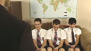 Jason & Hunter & Tyler - Three Boys Get Punished