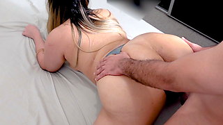 Real Amateur Homemade Fucking Thick MILF in NYC