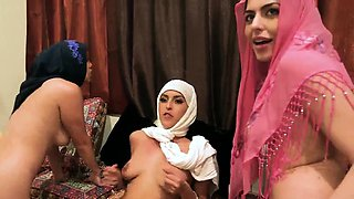 The party at kitty and studs Hot arab ladies attempt foursom