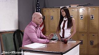 Asian Schoolgirl Vina Sky Creampied By Sex Ed Teacher