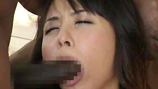 Japanese Beauty Gangbanged By BBCs