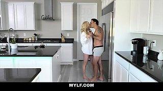 MYLF - Kitchen Quickie With Milf Brandi Love POV