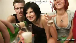 Get the Tastiest Sperm Cocktail at the Student Party