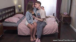 Casual Teen Sex - Mia Piper - Hot teen couple lovemaking