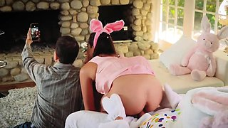 Innocent teen first time Uncle Fuck Bunny