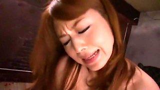 Hottest Japanese whore Akiho Yoshizawa in Amazing Lingerie, Facial JAV video