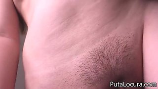 In Bed With Plumper Girl - Amateur Sex