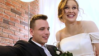 HUNT4K. Married couple decides to sell brides pussy