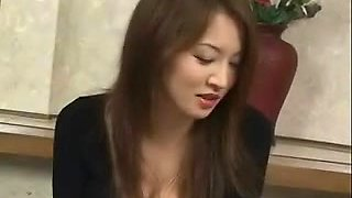 Shapely Japanese cutie acquires biggest cumshots